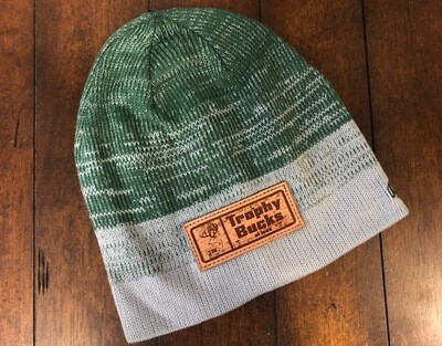 TBI Beanie with Leather Patch