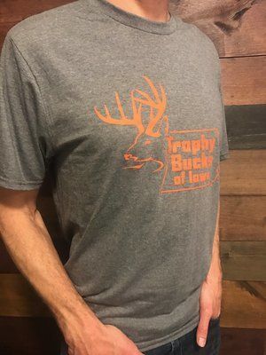TBI Grey / Orange T-Shirt