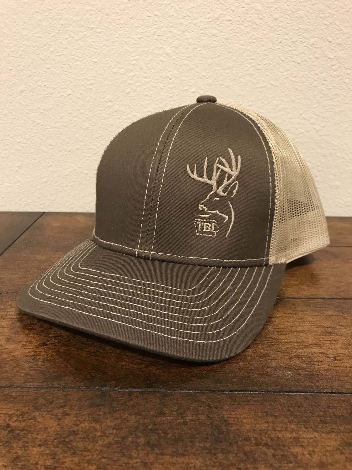 Tan / Brown TBI Hat
