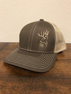 Tan / Brown TBI Hat