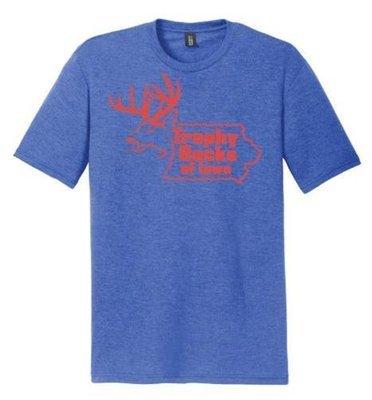 Blue / Red TBI Shirt