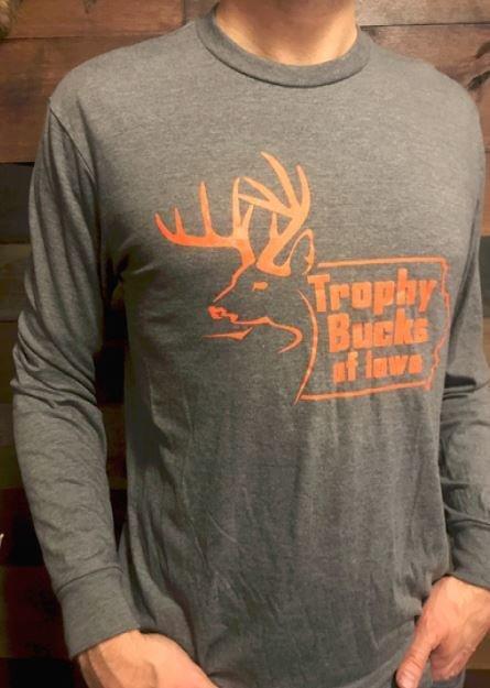 TBI Grey / Orange Long Sleeve T-Shirt