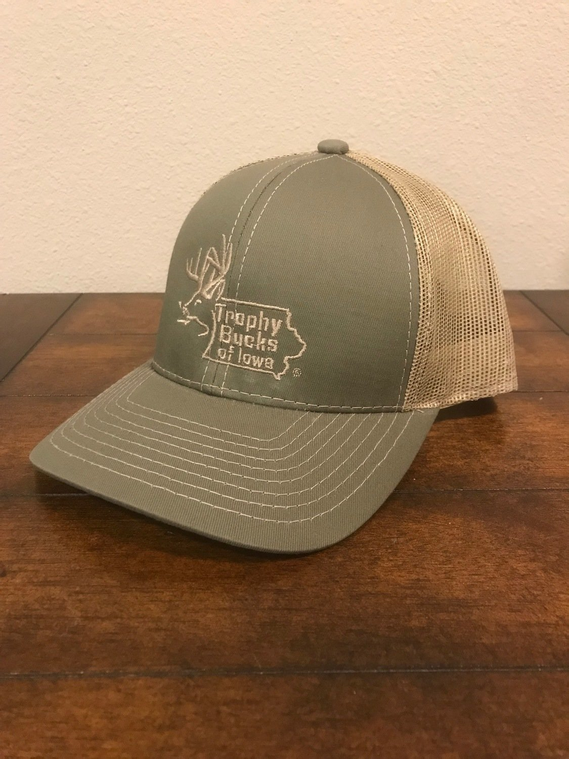 Olive / Tan TBI Hat