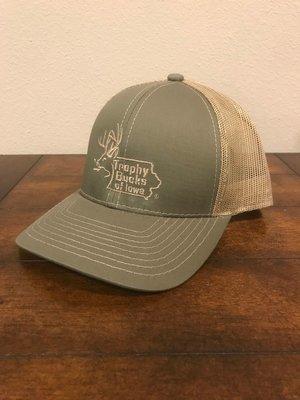 Olive / Tan TBI Hat