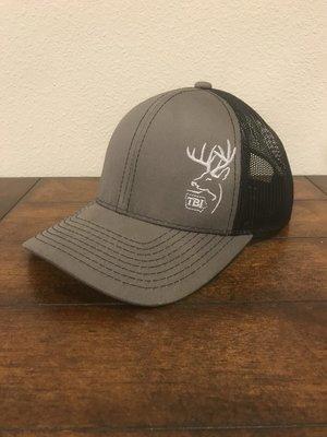 Grey / Black/ White TBI Hat