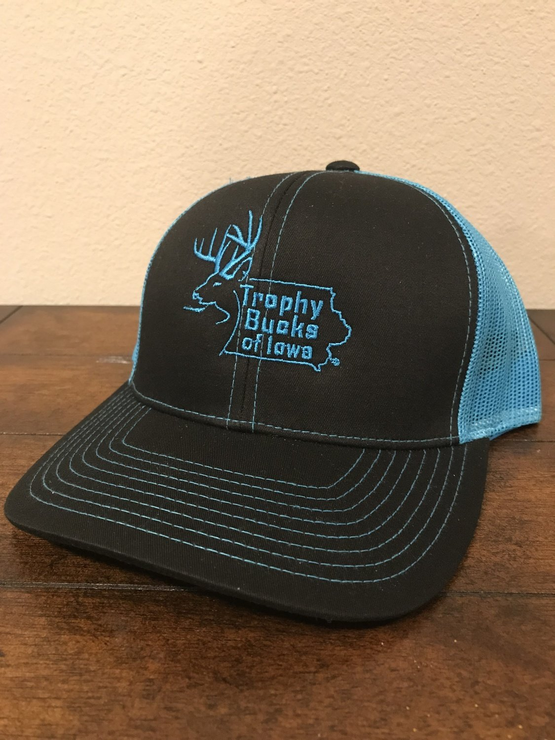 Neon Blue / Black TBI Hat