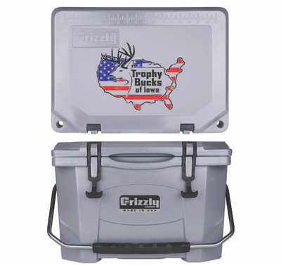 Grizzly G20 (20 quart) TBI USA Logo Gray
