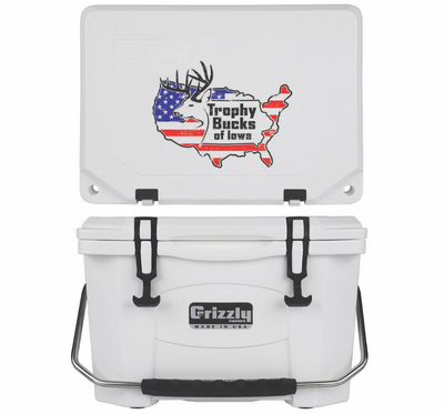 Grizzly G20 (20 quart) TBI USA Logo White