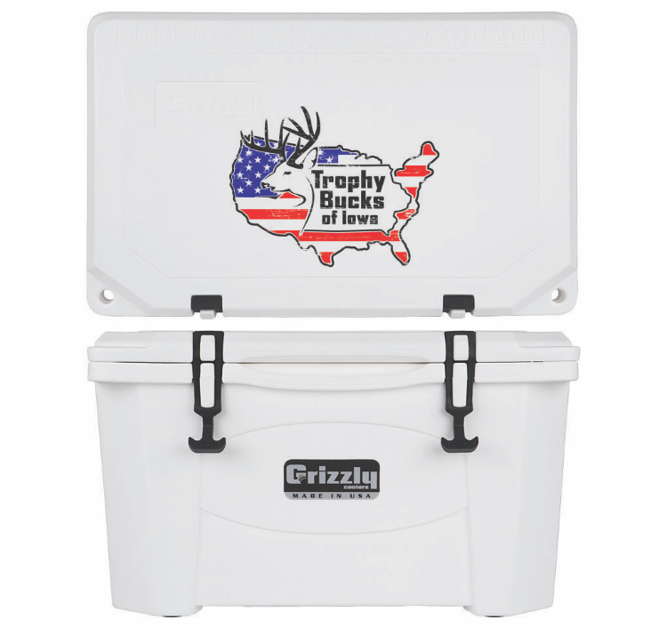 Grizzly G40 (40 quart) TBI USA Logo White