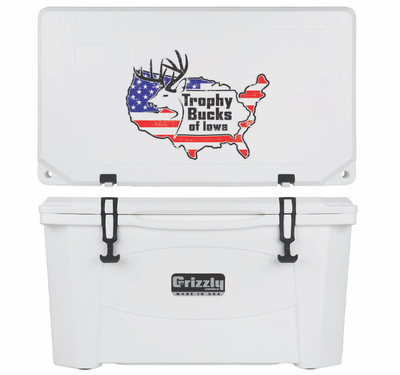 Grizzly G60 (60 quart) TBI USA Logo White