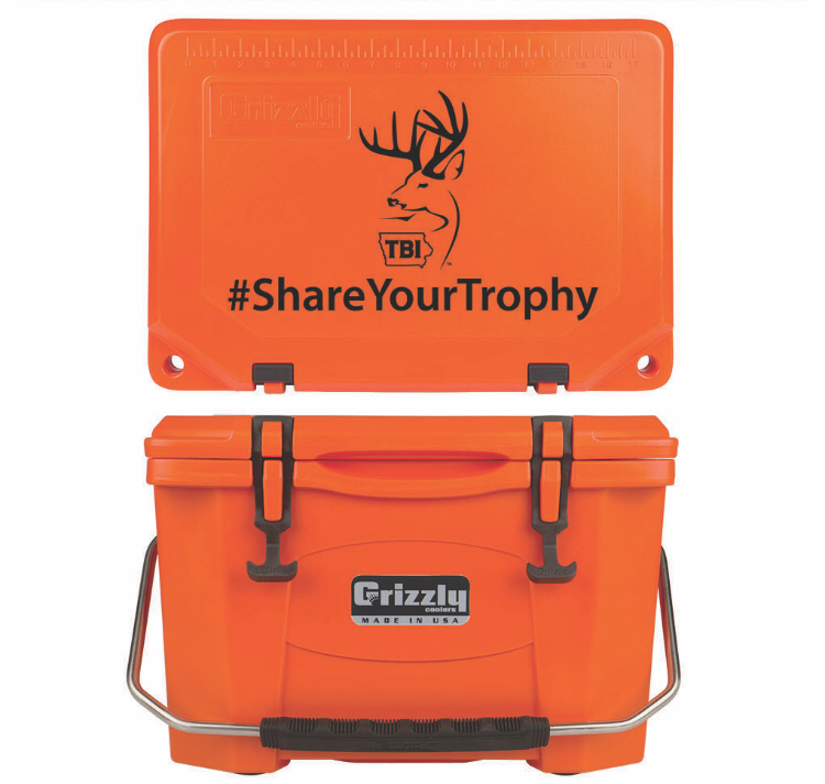 Grizzly G20 (20 quart) TBI Orange Alternative