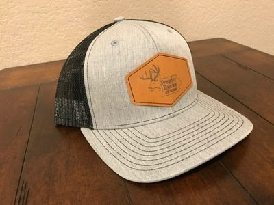 Grey / Brown Patch Hat