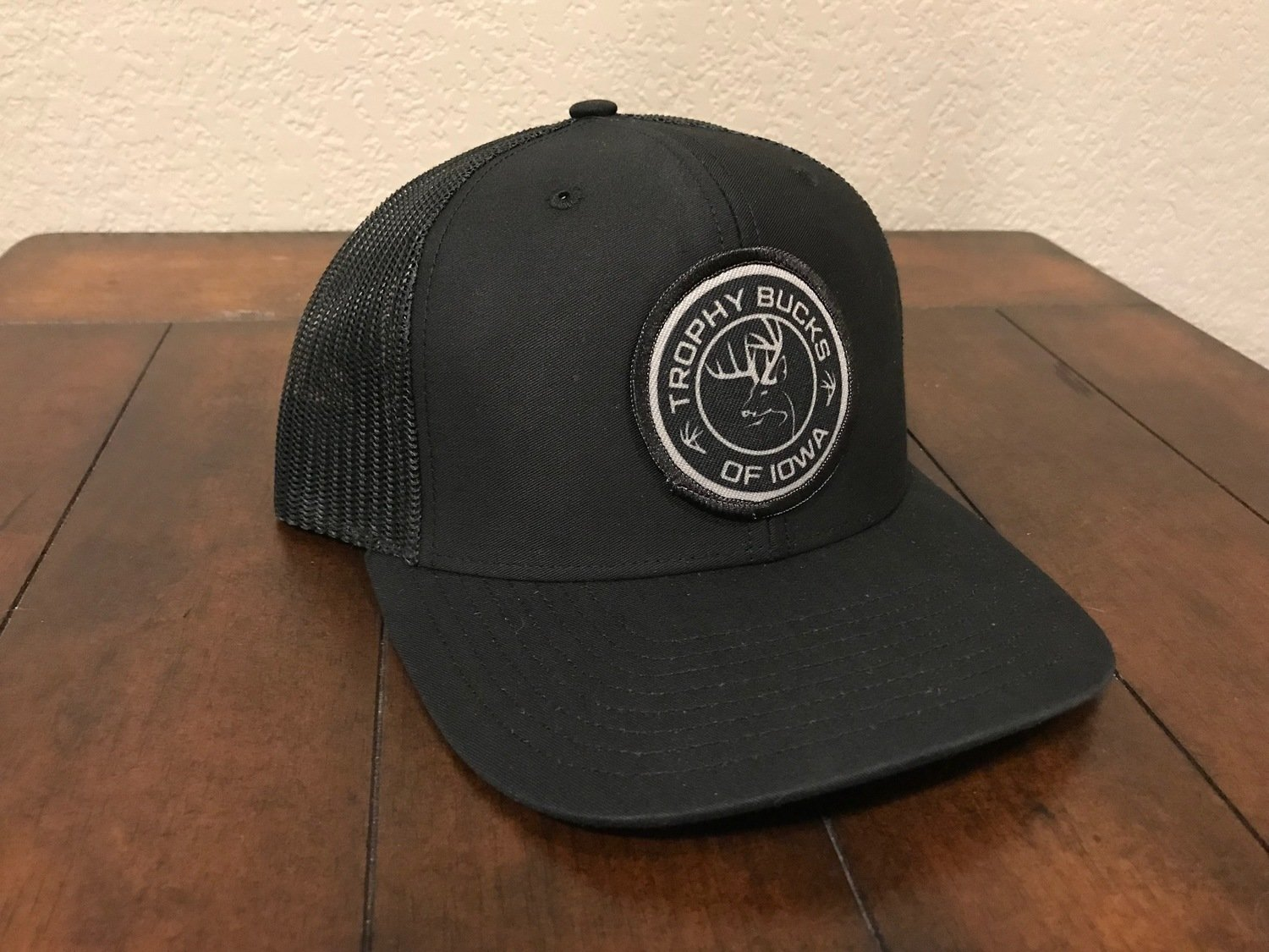 TBI All Black Patch Hat