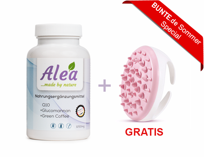 Alea 1er Packung + Cellulite Brush 05BU