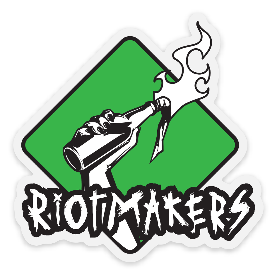 Riotmakers 3x3 Sticker
