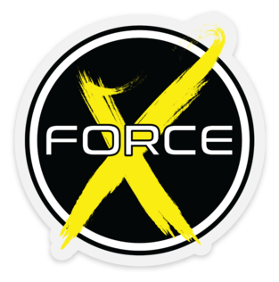 X Force 3x3 Sticker