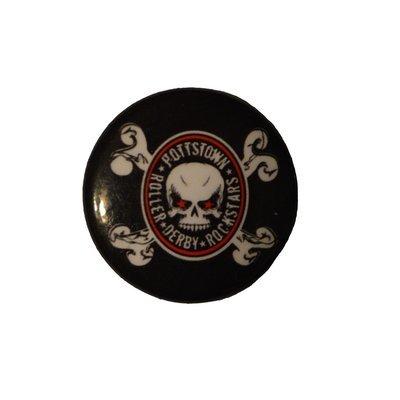 Pottstown Roller Derby Rockstars Pin