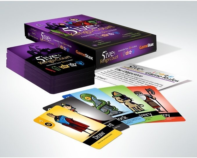5ive: King's Court box contents