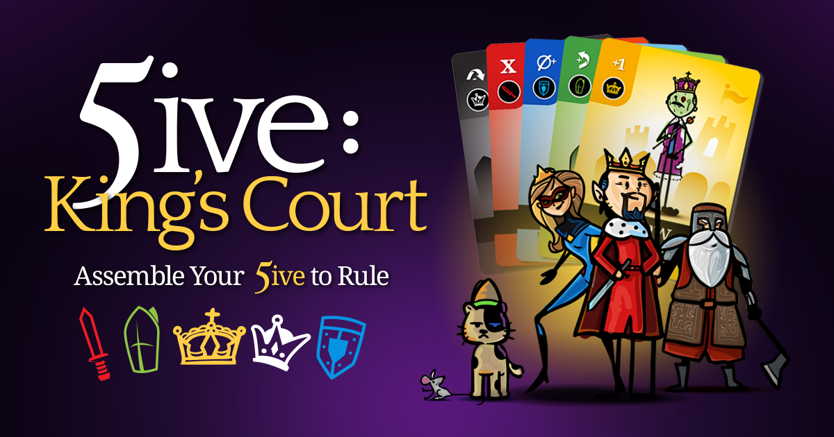 5ive: King's Court 2-4 Player Base Game