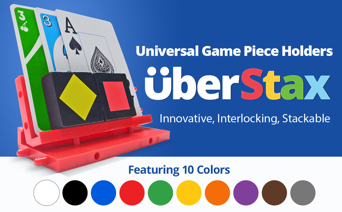 UberStax in 10 colors