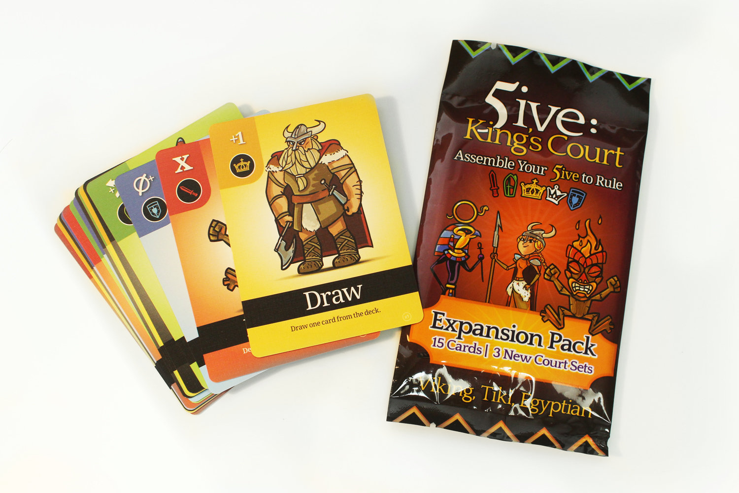 5ive: King's Court 5-6 Player Expansion Pack 5IVE-EXPANSION