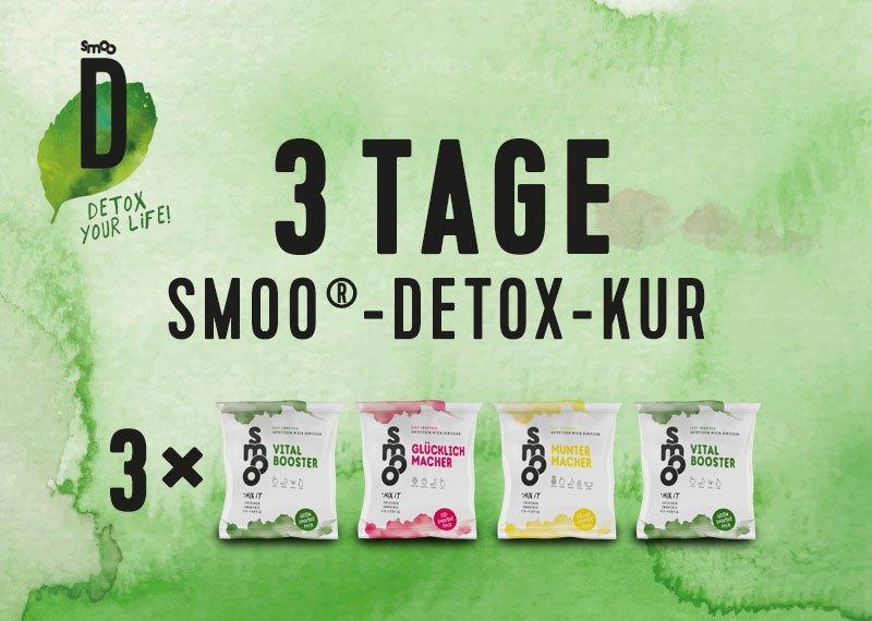 3 Tage smoo®-Detox-Kur