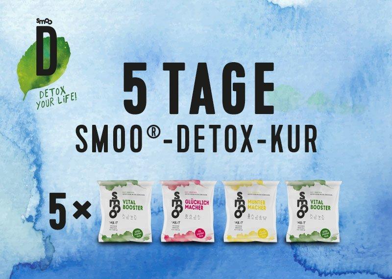 5 Tage smoo®-Detox-Kur