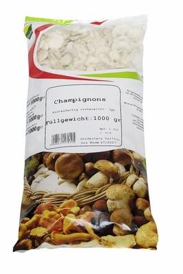TK Champignons weiß in Scheiben 1 kg
