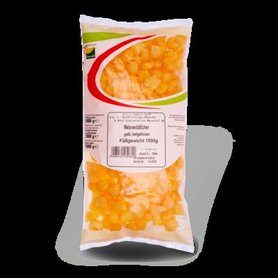 TK Melonenbällchen gelb 1 kg