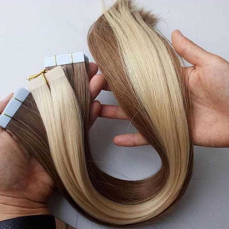 Free Shipping Tape In Hair 25gpc Remy Tape In Human Hair Extension