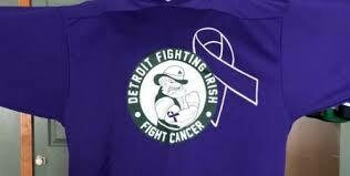 DFI FIGHTS CANCER REPLICA JERSEY  FOR AMERICAN CANCER SOCIETY