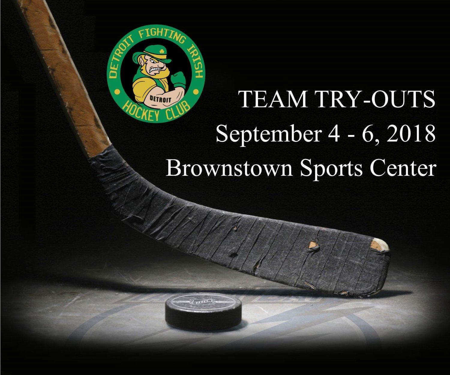 Team Tryouts - September 4-6, 2018