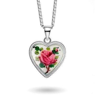 Rose uten Fader vår - Halskjede i sølv