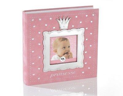 Prinsesse Fotoalbum lys rosa