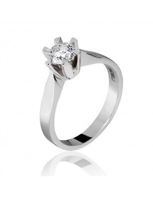 Enstens diamantring 1,03ct