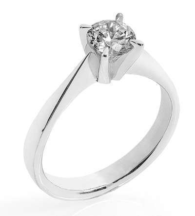 Maud ring 0,50ct Wsi hv 585