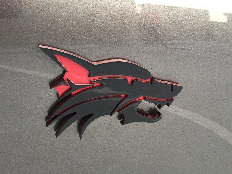 Coyote Rear Badge