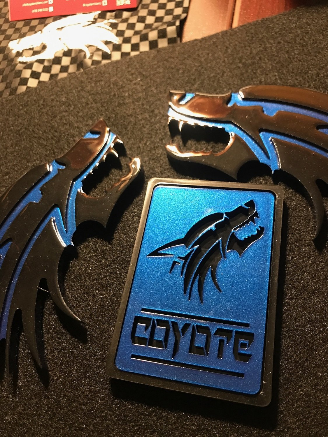 Coyote Square  Grill Badge