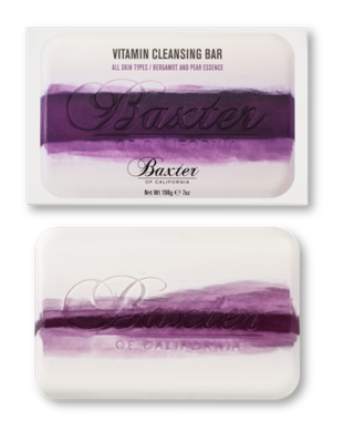 Vitamin Cleansing Bar Bergamot and Pear