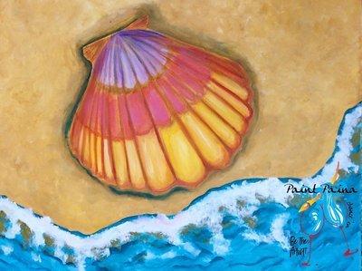Original Painting – Sunrise Shell