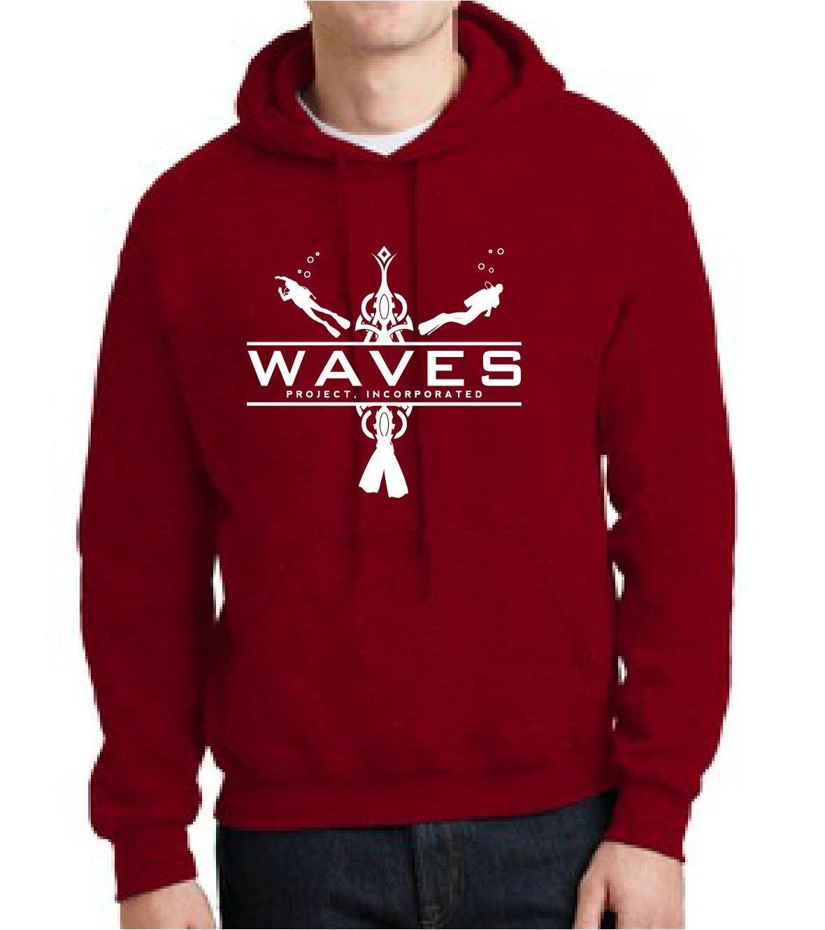WAVES Hoodie Sweatshirt