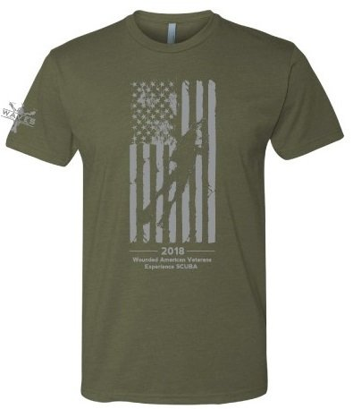 WAVES Men's Flag T-shirts