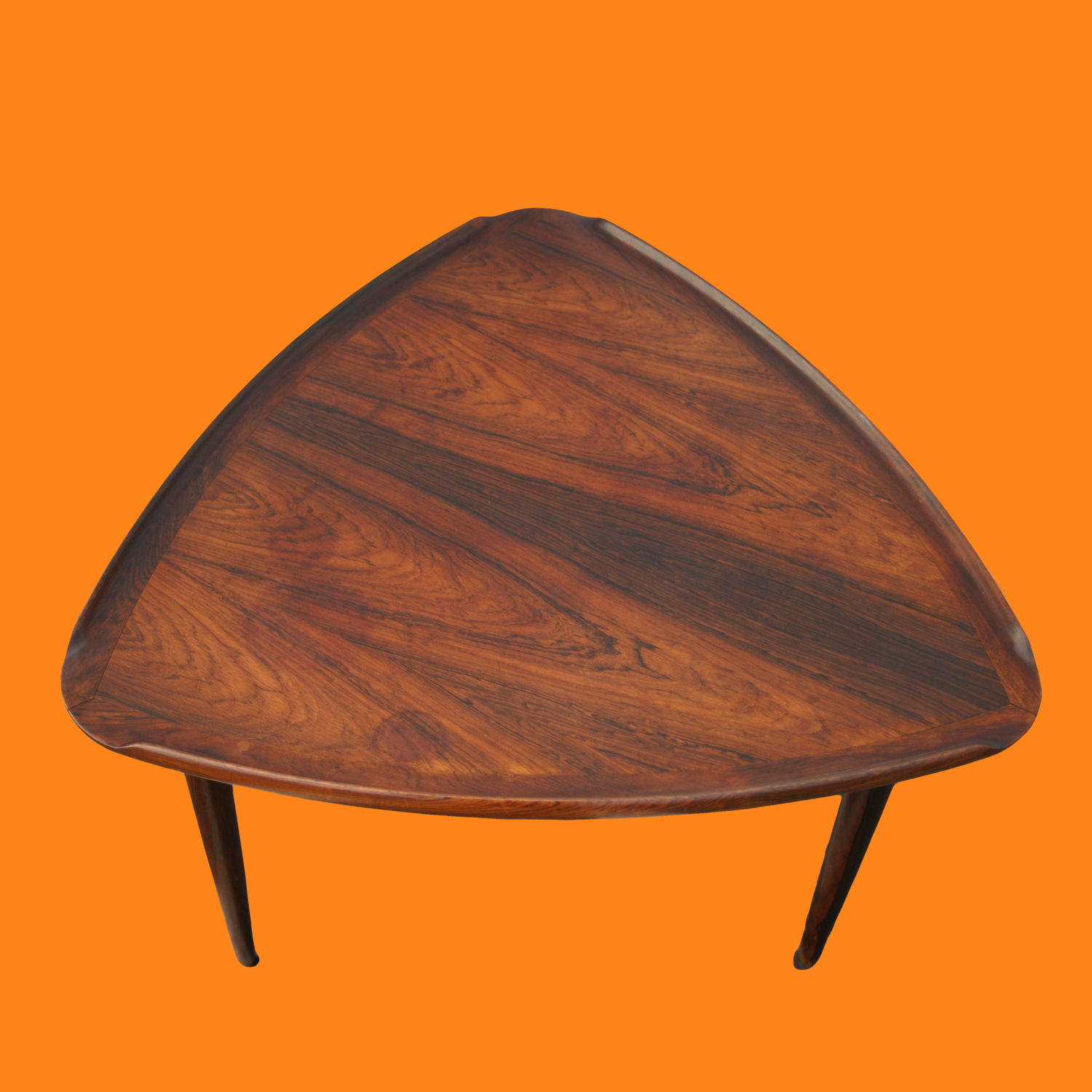 Rosewood Guitar Pick Table Made in Denmark