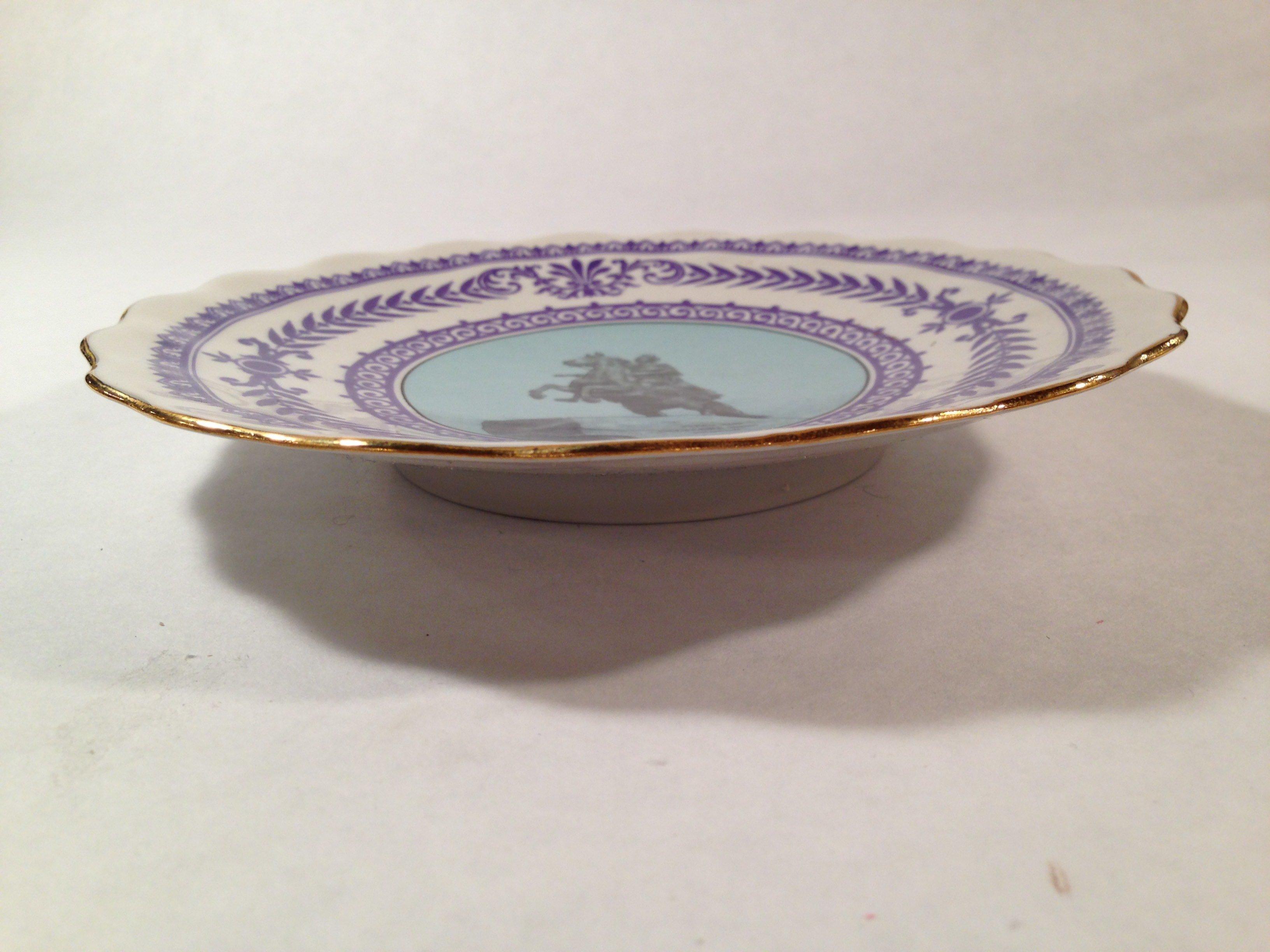 20% OFF - Souvenir Plate St. Petersburg RUSSIA Catherine the Great - Summer Garden