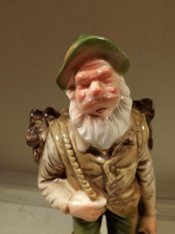 Woodsman Figurine Close Up