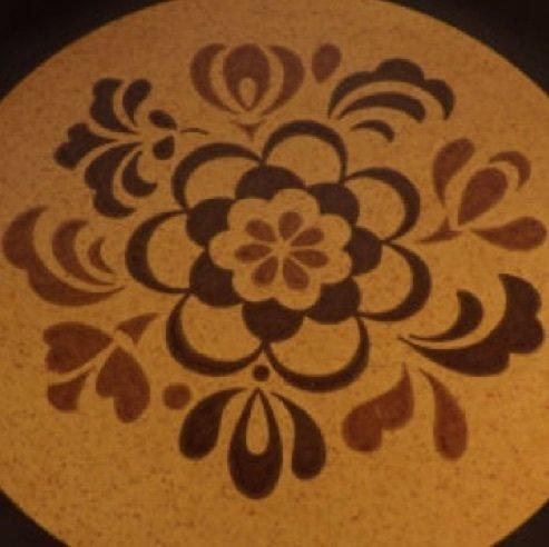 vintage chop plate