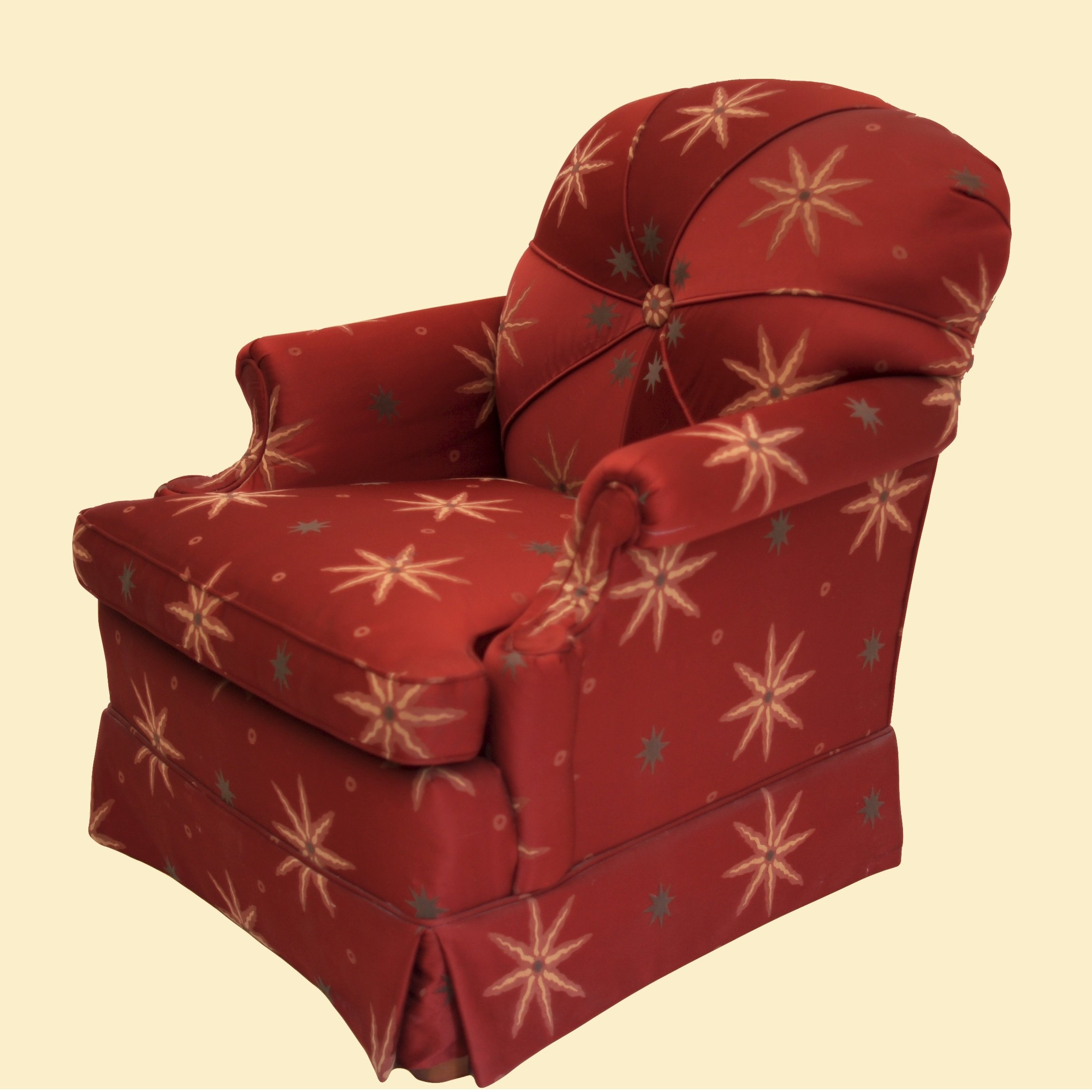 Starburst Sateen Chair