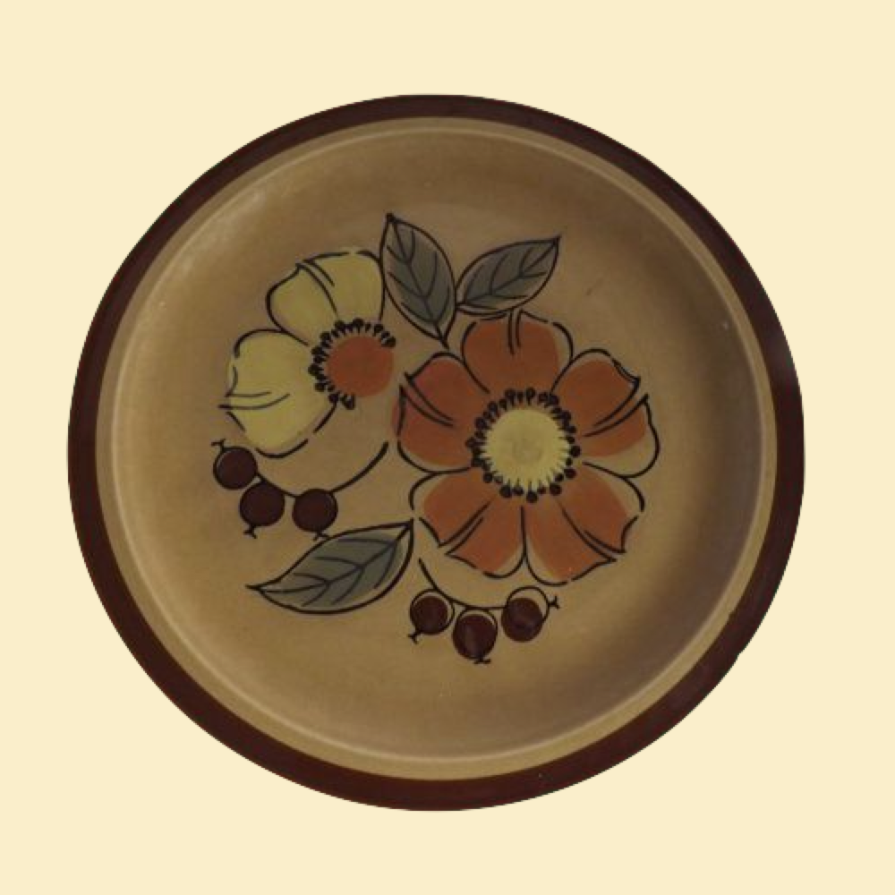 20% OFF - Ekco Eterna Canoe Flora Stoneware Dinner Plate