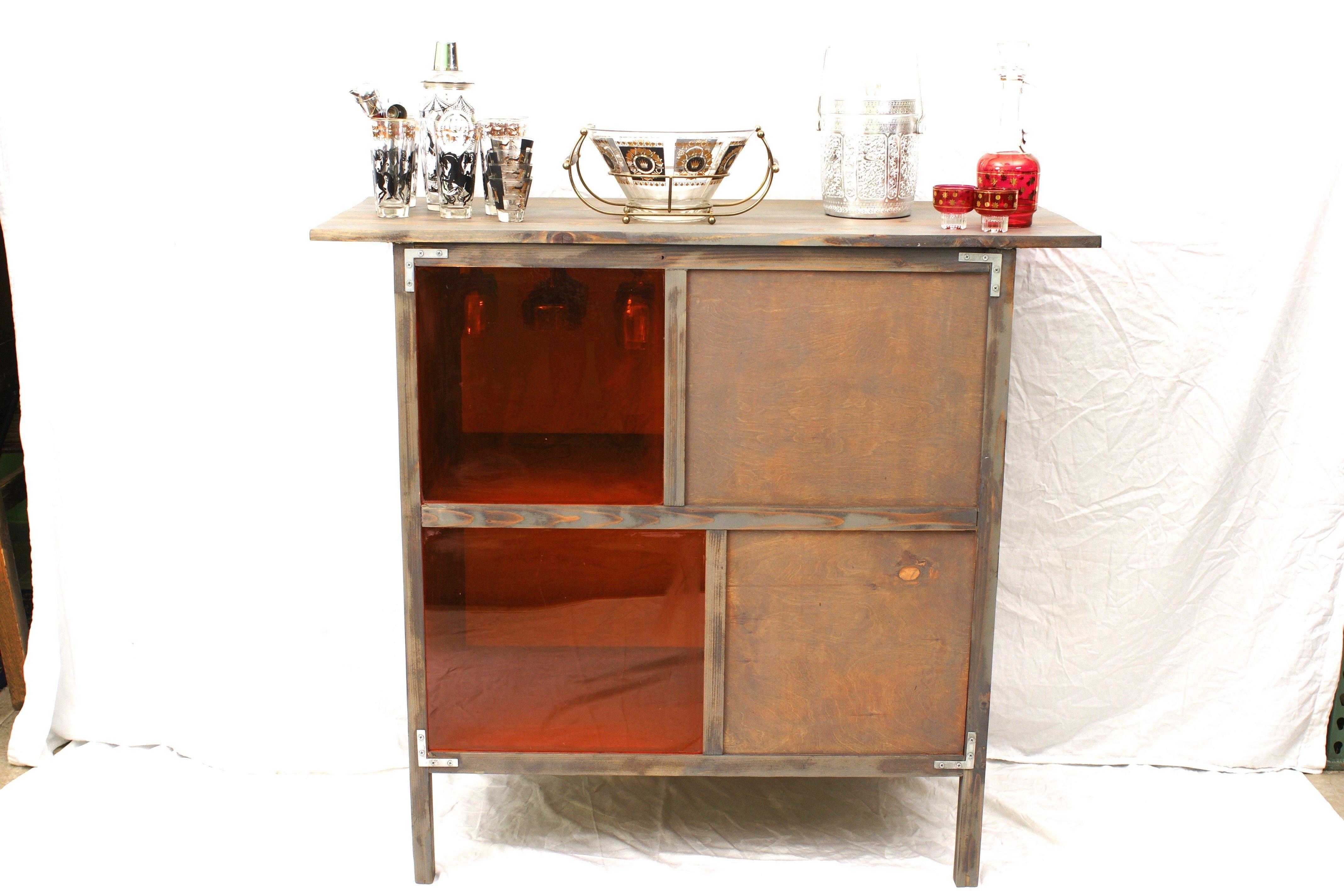 20% OFF -Mid Century Rustic Industrial Bohemian Bar