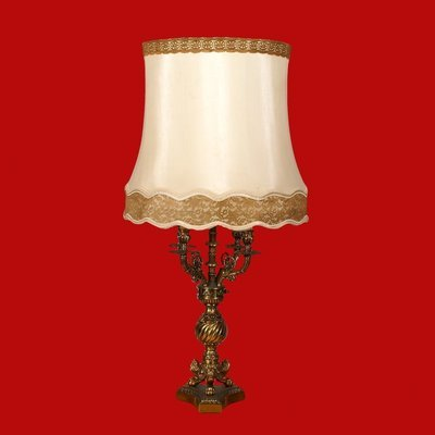 Huge Downton Abbey Style Table Lamp 40